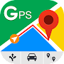 GPS Route Finder - Route Tracker Maps & Navigation APK icon