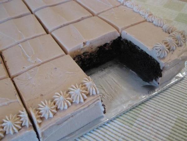 Chocolate Mocha Cake With Mocha Buttercream Icing Recipe
