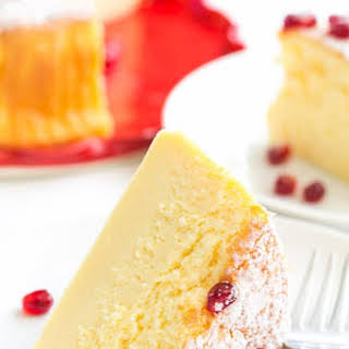 3-Ingredient Soufflé Cheesecake.