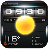 Analog Clock & Weather Widget