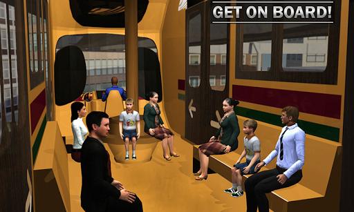 Elevated Train Driving Simulator: Sky Tram Driver apktram screenshots 6