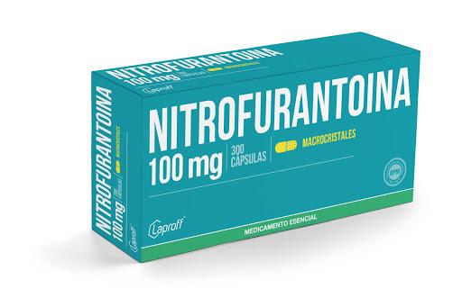 nitrofurantoina 100mg blister 10tabletas laproff