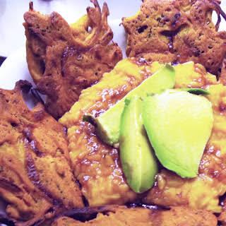 Broccoli and Onion Pakora [Vegan, Gluten-Free].