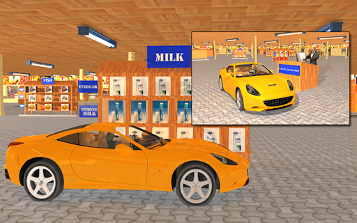 玩免費模擬APP|下載Drive through Supermarket 3D app不用錢|硬是要APP