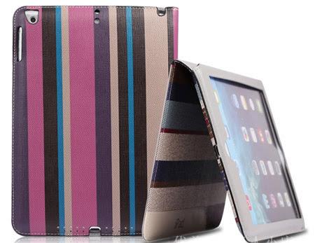 etui élégant luxe slim avec support pour iPad air 1 2