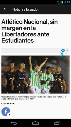 Periu00f3dico El Comercio Ecuador 3.0 screenshots 2