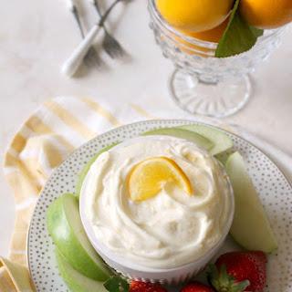 Meyer Lemon Mascarpone Fruit Dip Recipe