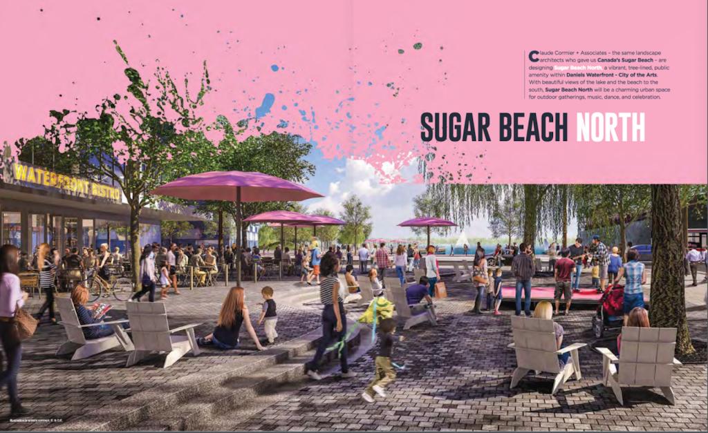 Sugar Beach North - Daniels Waterfront