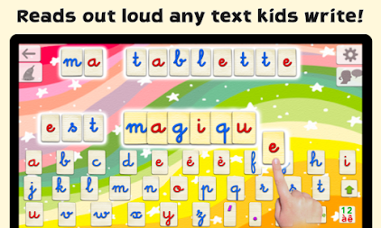 French Word Wizard - Learn to read and spell APK screenshot thumbnail 2