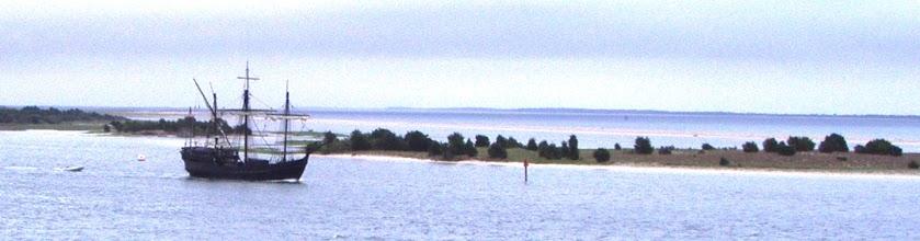 Photo: Nina leaving Beaufort