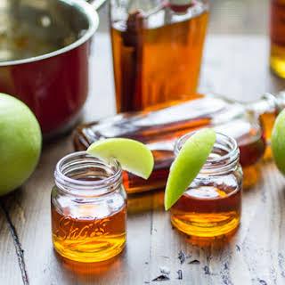 Caramel Apple Infused Bourbon.