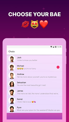 My Virtual Boyfriend Chatbot screenshot 6