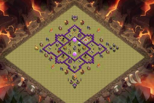Best Base Maps COC TH7 1.0 screenshots 8