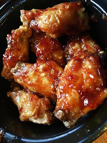 ~ Sweet Meets Heat Party Wings ~ Recipe