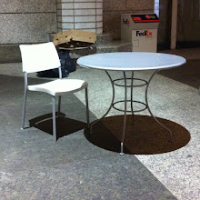 Photo: Chair and Table @ Wall Street