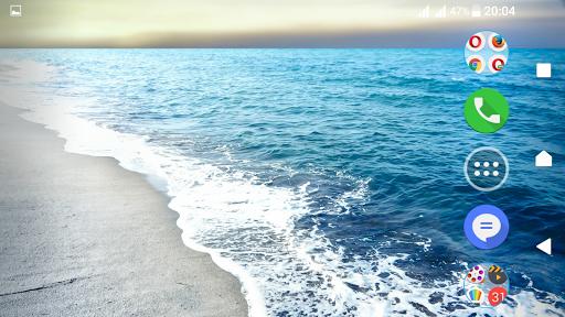 Cool Waves Theme For Xperia screenshot 7
