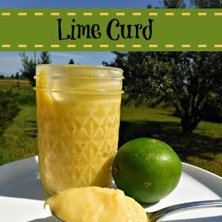 Lime Curd.