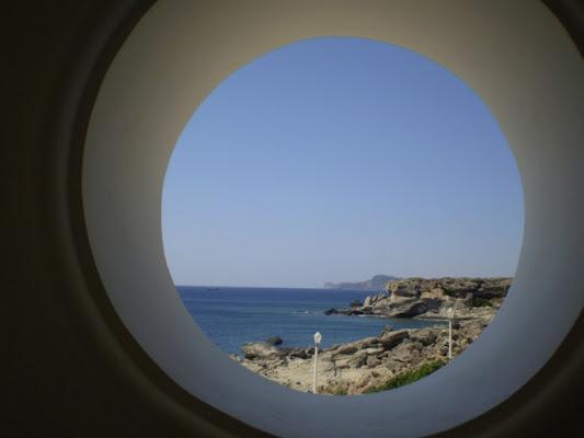 Costa greca dalla finestra di Makius