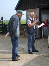Photo: Keurmeesters zijn de heren K. van Dongen en P. van Haperen.