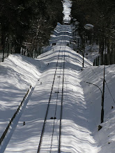 Photo: C4010010 Krynica - juz kwiecien a tu snieg