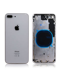 iPhone 8 Plus Housing without small parts HQ Silver
