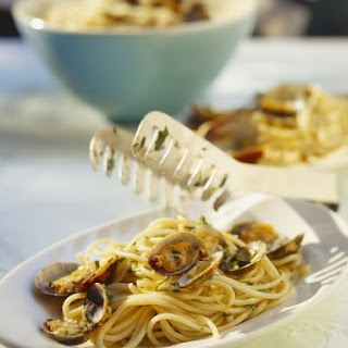 Clam Sauce Spaghetti