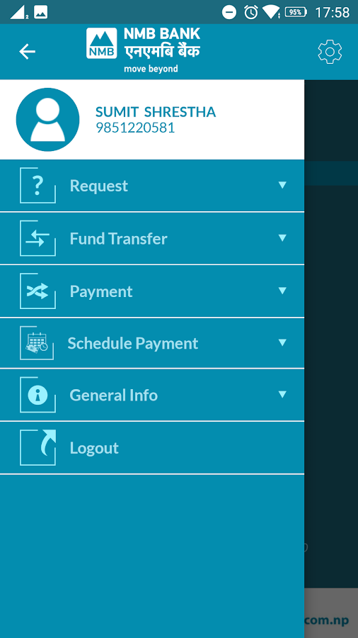 NMB Mobile Bank- screenshot