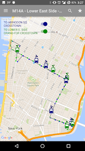 NYC Bus Map - Live screenshot 6