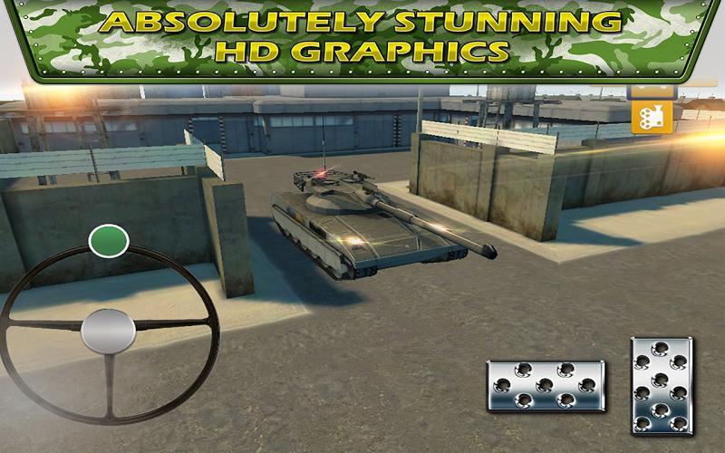 Скриншот Drive Tank Parking Combat 3D