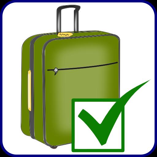 My Luggage Checklist Icon