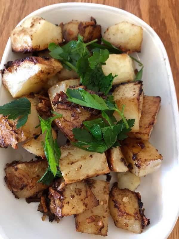 Roasted Onion Potatoes Recipe