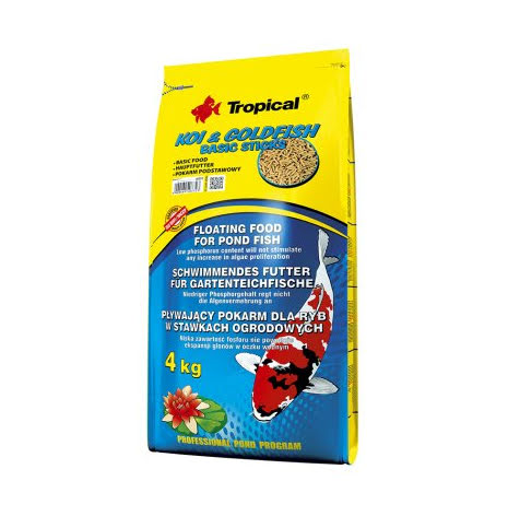 Koi & Goldfish Basic sticks 400g/5liter