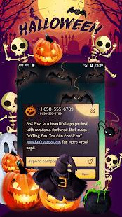 Halloween SMS Theme - náhled