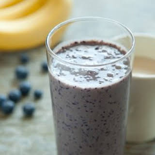 Blueberry-Banana Smoothie.