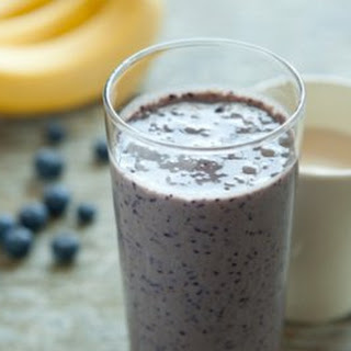Blueberry-Banana Smoothie.