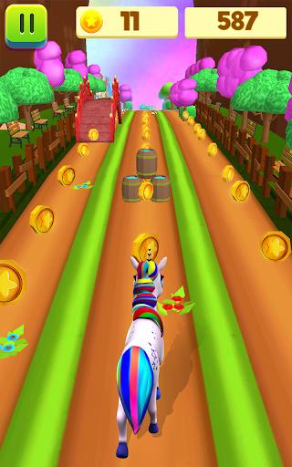 Unicorn Run - Runner Games 2020 filehippodl screenshot 14