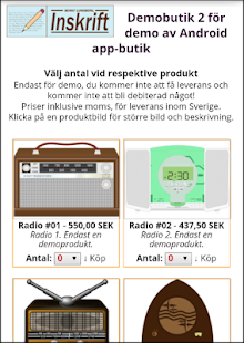 Inskrift Demobutik 2- screenshot thumbnail