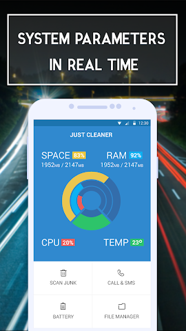 android Rapid Sweeper Memory Booster Screenshot 0