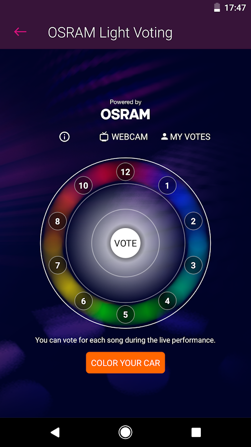 Eurovision Song Contest – Screenshot