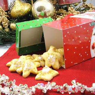 Christmas Lemon Cookies.