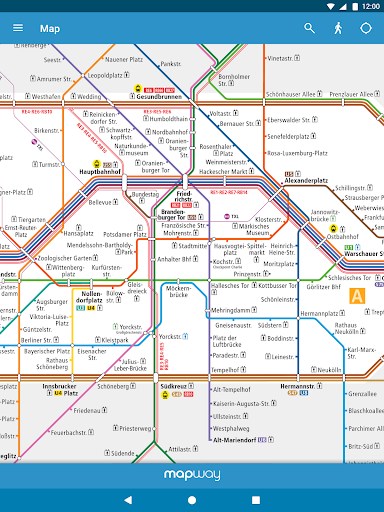 berlin subway bvg u bahn s bahn map and routes 1 0 6 apk by mapway details. Black Bedroom Furniture Sets. Home Design Ideas