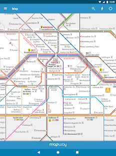 berlin subway bvg u bahn s bahn map and routes apps on google play. Black Bedroom Furniture Sets. Home Design Ideas