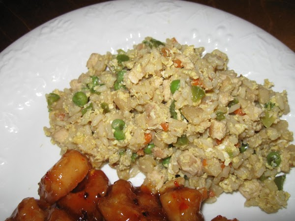 Asian Inspired Fried Rice, Millie's Recipe