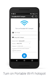 Portable Wi-Fi hotspot Free Screenshot