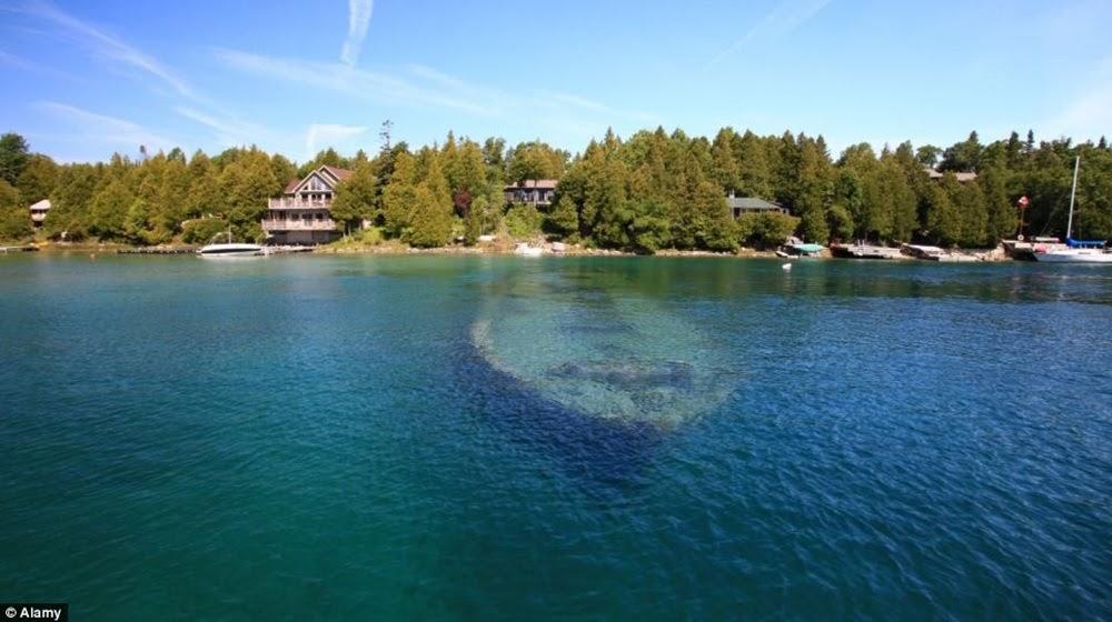 Os naufrágios do lago Huron