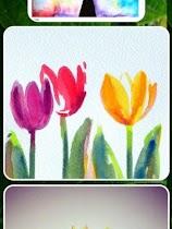 Simple Watercolor Designs - screenshot thumbnail 02