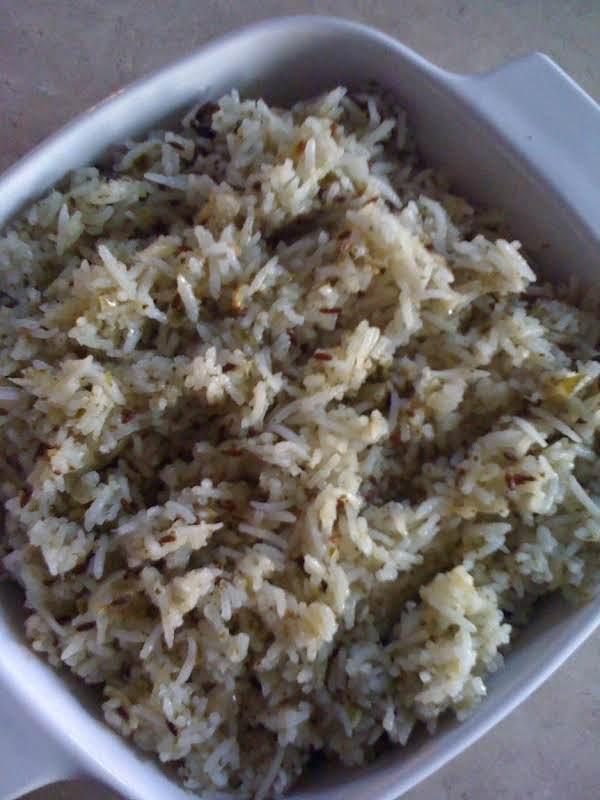 Pudina Rice – Mint Rice