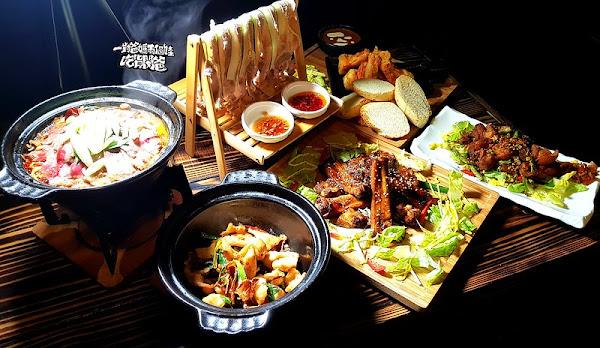推!晾衣白肉、川味水煮牛、咖哩大蝦等菜色超美味。旅人灶咖