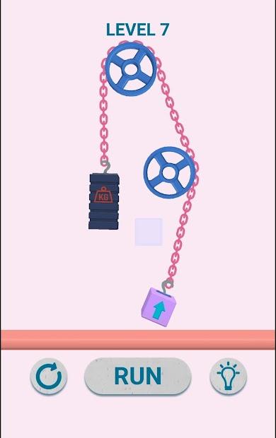 Block And Chain: entertaining physics
