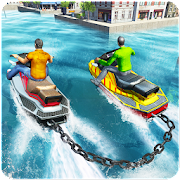 Chained Boat Driving Simulator 2018